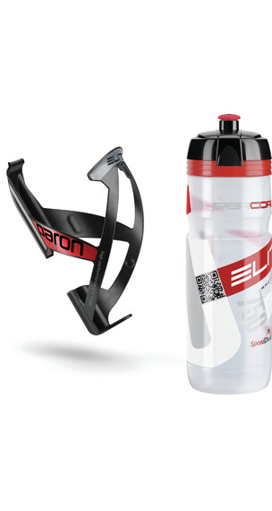 Elite Kit Supercorsa/Paron Drikkedunk plastik 750 ml rød/sort